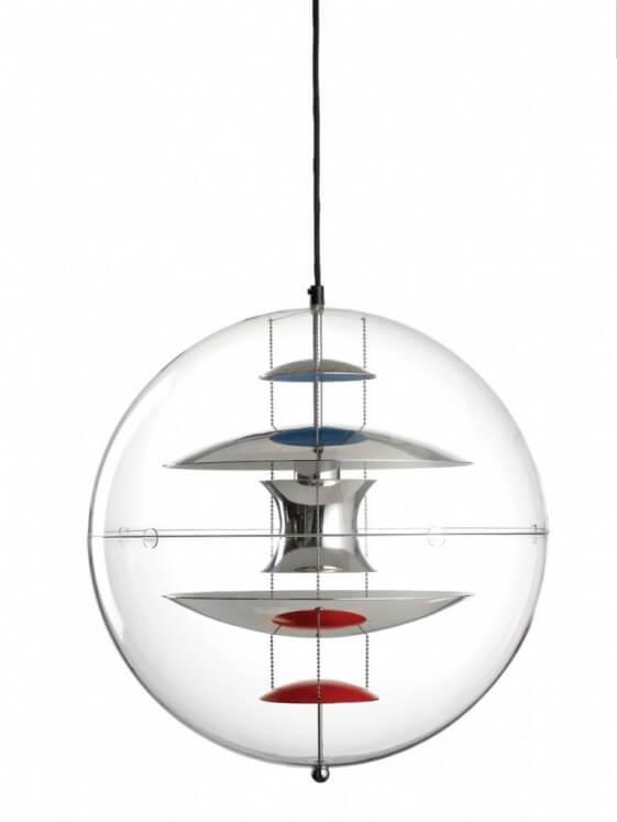 Suspension design Sphère Verpan VP GLOBE diam. 40 cm