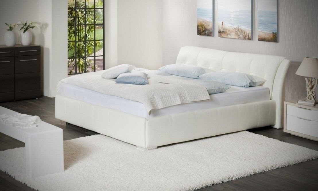 Tr s grand lit 200 cm super king size sweetdreams for Lit king size but