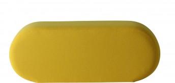 WELLE 5 Verpan, module banc de détente en tissu Kvadrat