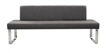 Banquette design SeaSide cuir ou tissu 160 cm