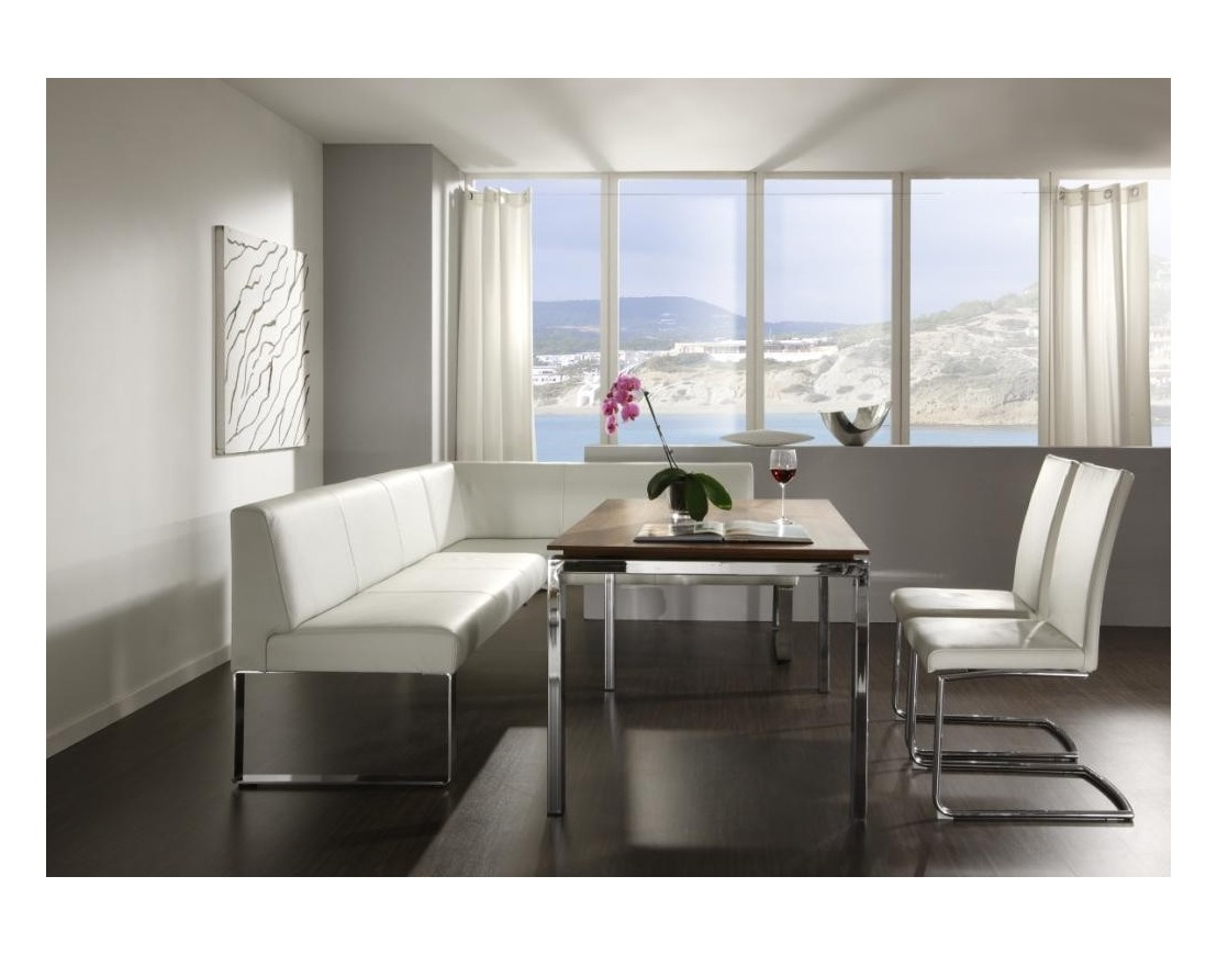 banquette d 39 angle cuir seaside 200 x 240 cm. Black Bedroom Furniture Sets. Home Design Ideas