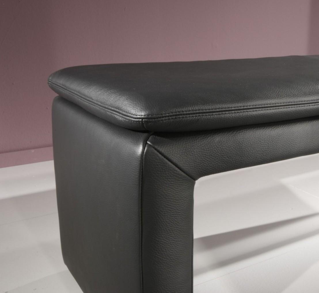 banc en cuir ou tissu loftside 160 cm. Black Bedroom Furniture Sets. Home Design Ideas