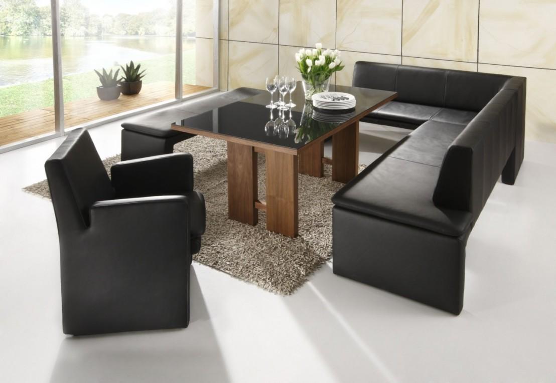 loftside petit coin repas en cuir 120 x 190 cm. Black Bedroom Furniture Sets. Home Design Ideas