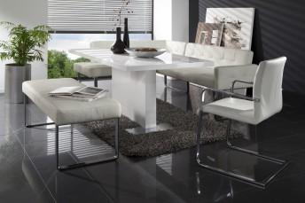 Banquette d'angle DiamondDining design contemporain 165 x 289cm