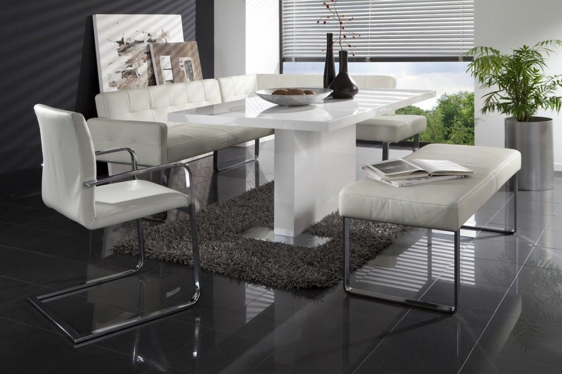 Banquette d 39 angle coin cuisine diamonddining design 205 x for Banquette cuisine angle