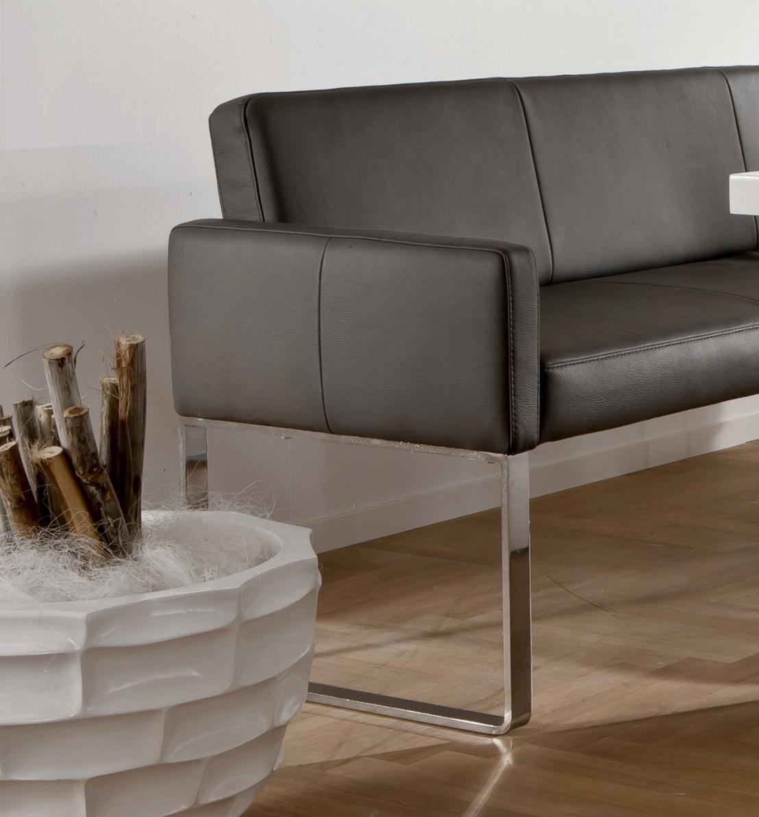 banquette cuir design 220 x 249 cm puredining. Black Bedroom Furniture Sets. Home Design Ideas