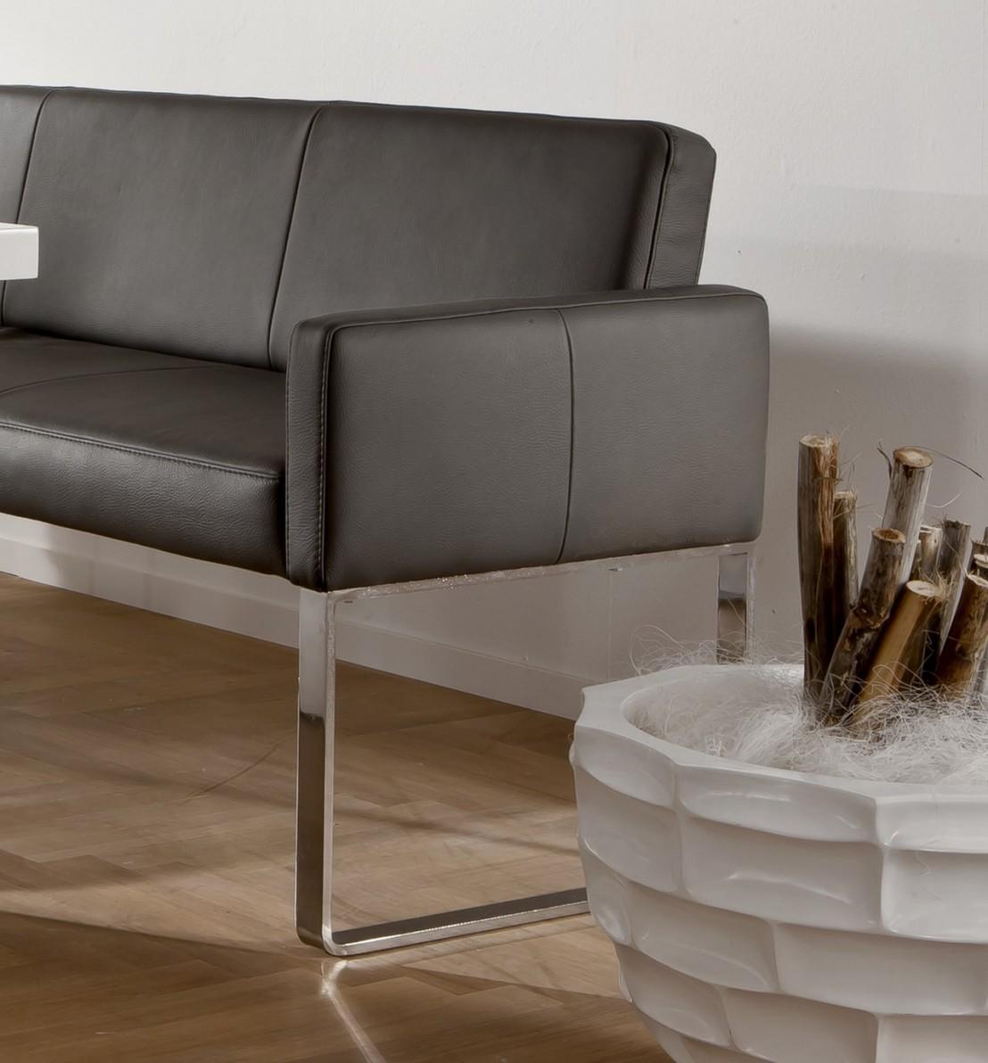 banquette d 39 angle design en cuir puredining 160 x 229 cm. Black Bedroom Furniture Sets. Home Design Ideas