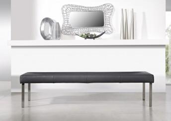 Banc PUREdining 210 cm design en cuir ou tissu