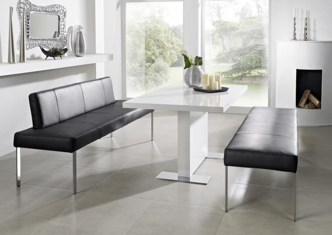 Puredining 180 Cm Design Cuir Ou Tissu # Banquette En Bois Design
