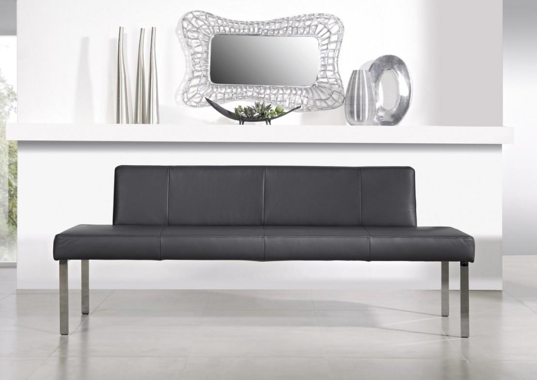 Banquette puredining 180 cm design cuir ou tissu - Banquette cuir design ...