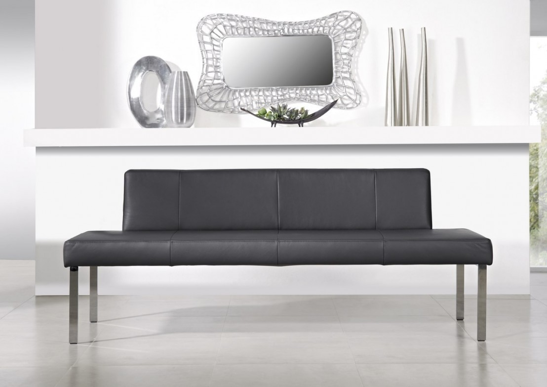 banquette puredining 180 cm design cuir ou tissu. Black Bedroom Furniture Sets. Home Design Ideas