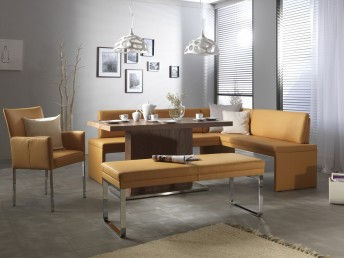 Banquette d'angle design minimaliste DEXTER 227 x 266 cm