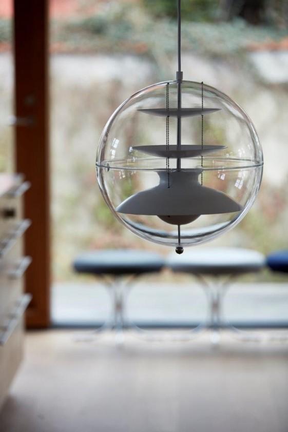 Suspension Sphère Verpan Panto diam. 40 cm
