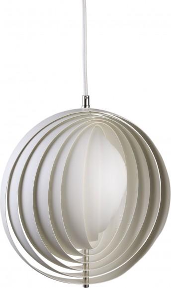 Lampe Moon Verpan blanche diam. 34 cm