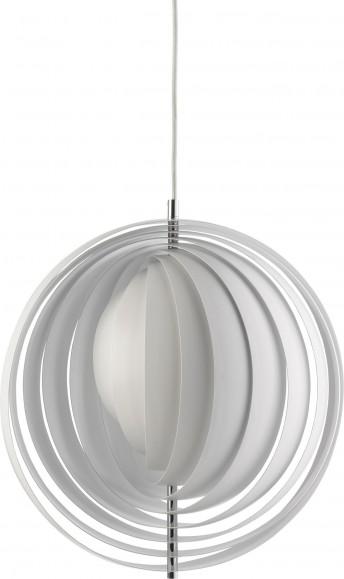 Lampe design Moon Verpan blanche diam. 44,5 cm