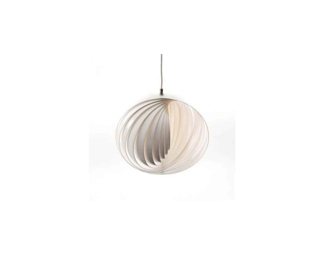Lampe design moon verpan blanche diam 445 cm - Lampe design blanche ...