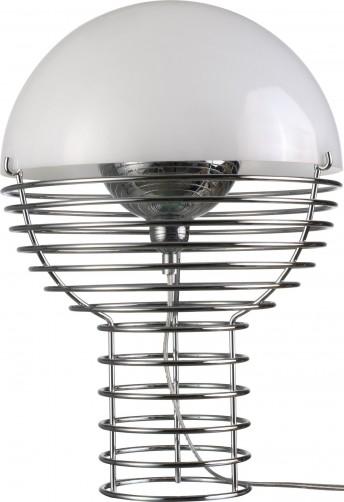 Petite lampe design WIRE blanche Verpan