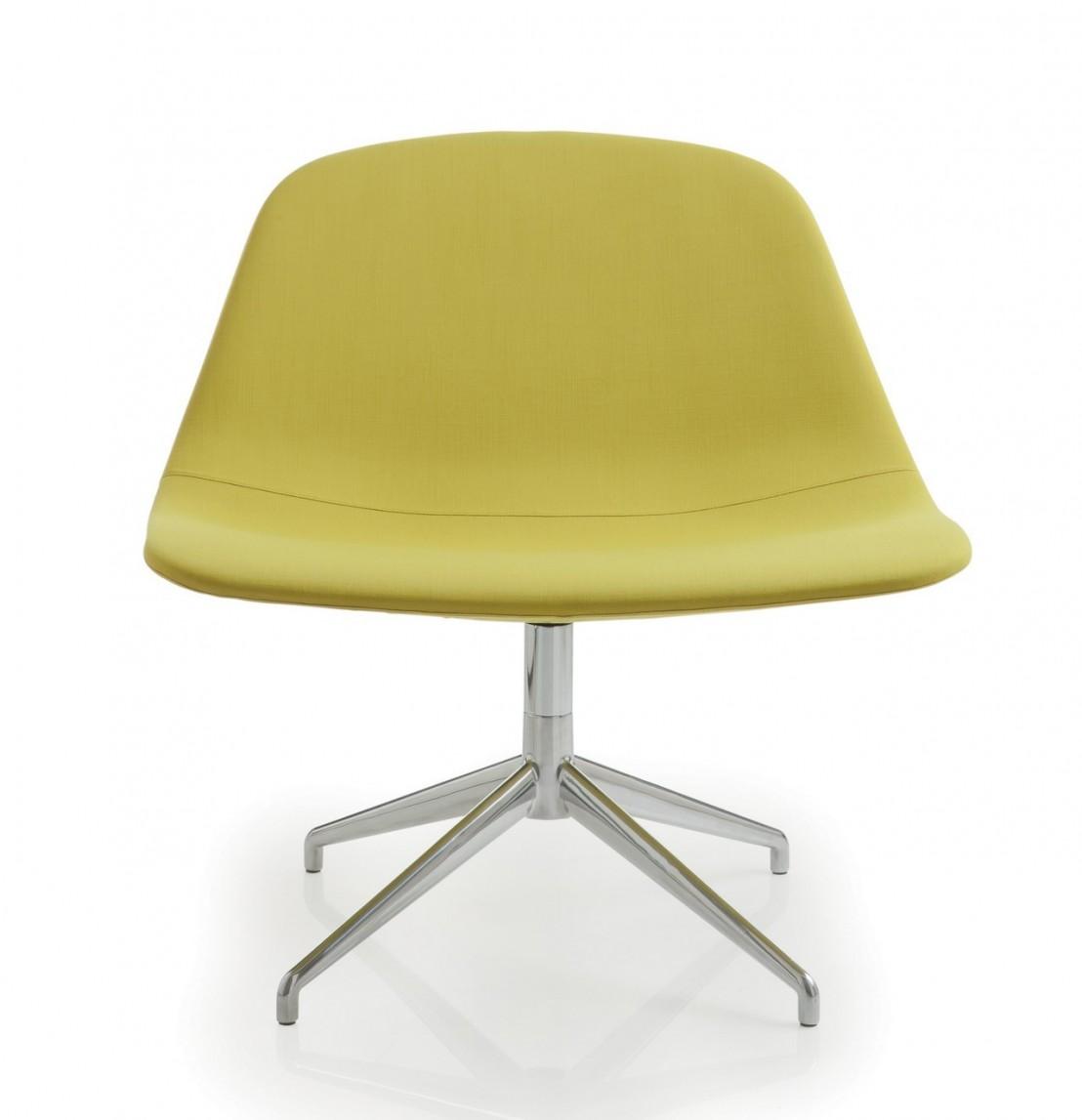 fauteuil repose pieds design cuir ou tissu llounge luxy. Black Bedroom Furniture Sets. Home Design Ideas