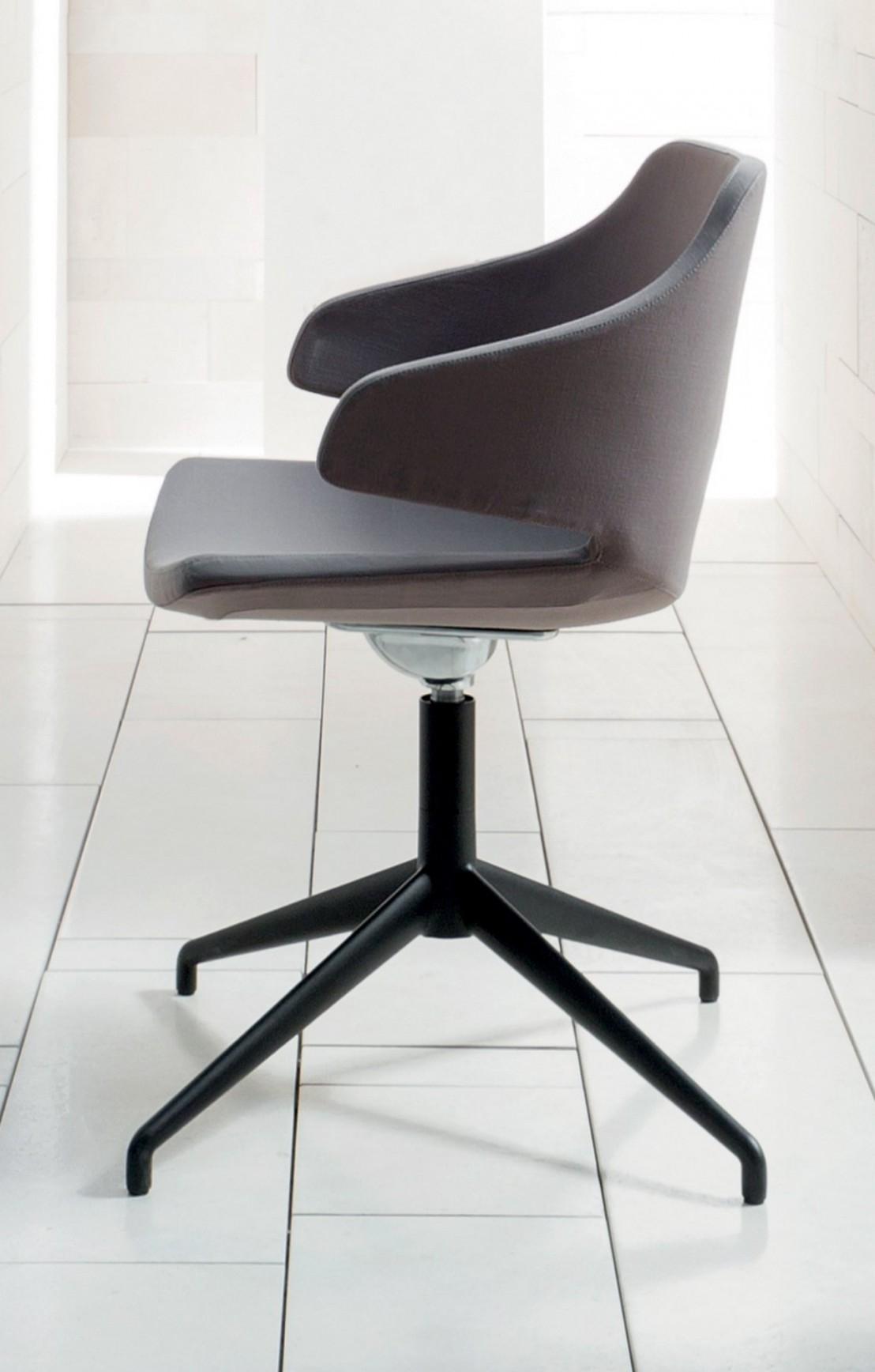 fauteuil design meraviglia luxy en tissu pied toile 4 branches. Black Bedroom Furniture Sets. Home Design Ideas
