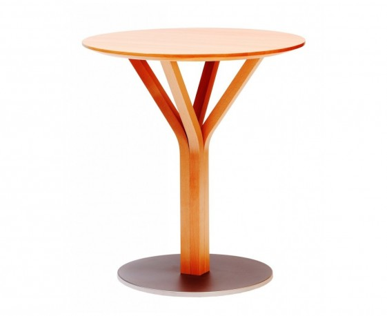 Table BLOOM Central 272, en hêtre massif design Arik LEVY