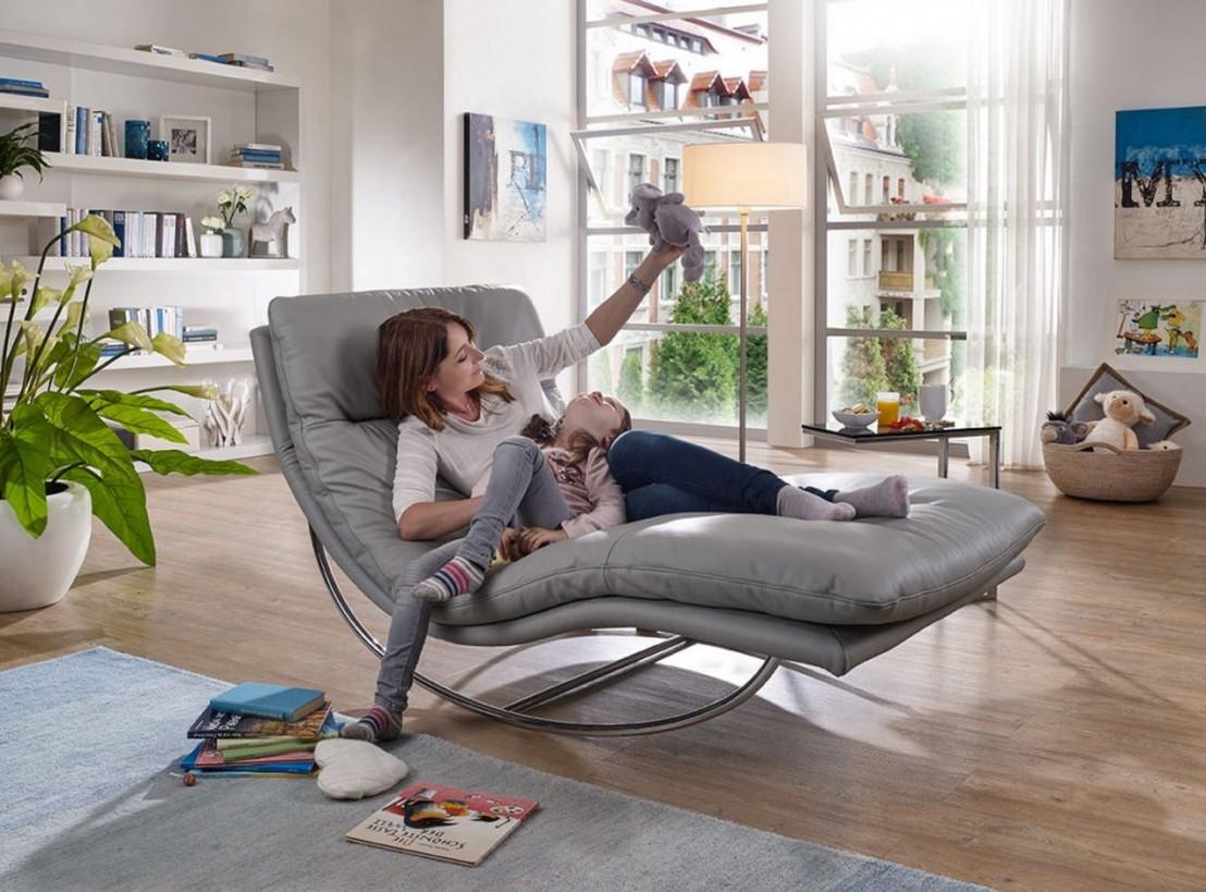 chaise longue design rockyou xl large livraison gratuite. Black Bedroom Furniture Sets. Home Design Ideas