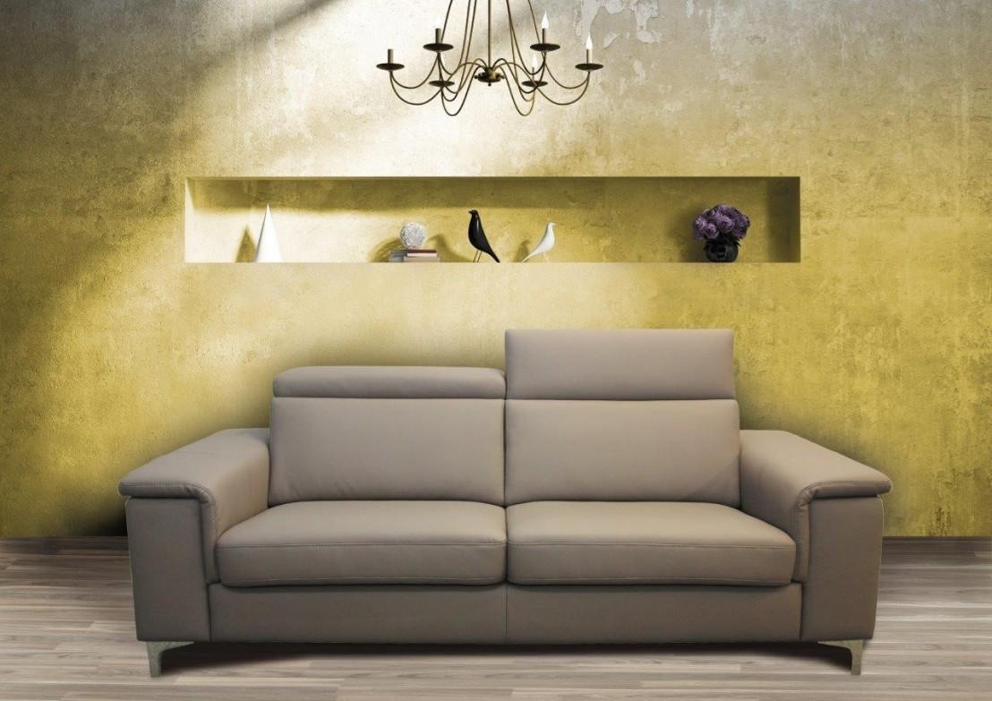 canap 3 places prix promo kayle cuir ou tissu livraison. Black Bedroom Furniture Sets. Home Design Ideas