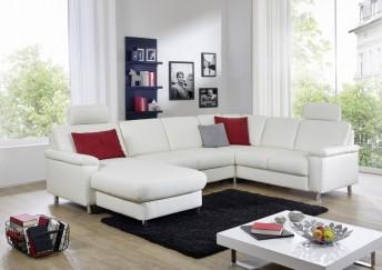 Grand canapé d'angle MARWIN.C 6 places en U