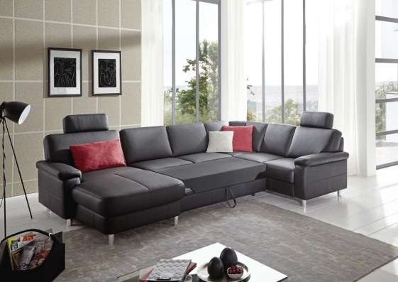 Marwin c tr s grand canap angle convertible panoramique 7 - Canape panoramique 7 places ...