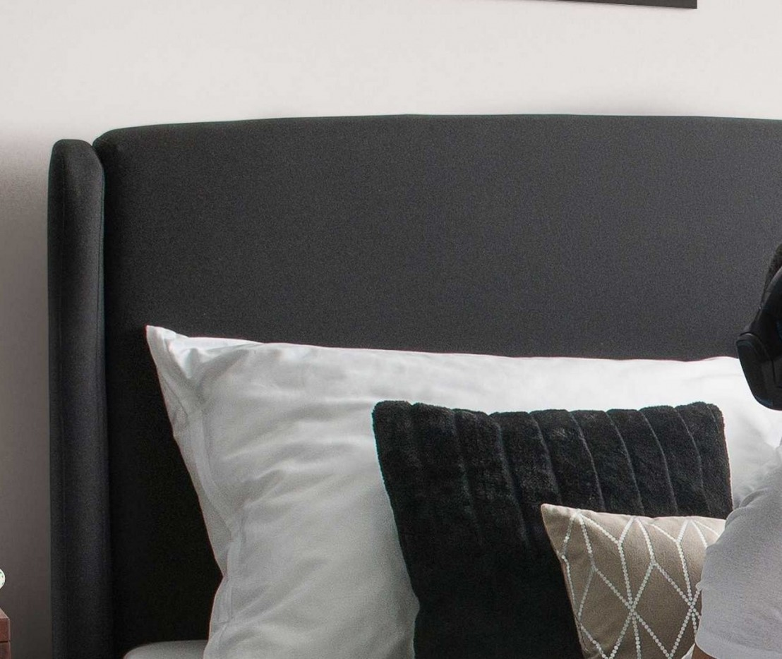 ensemble matelals sommier t te de lit tissu sidy livraison gratuite. Black Bedroom Furniture Sets. Home Design Ideas