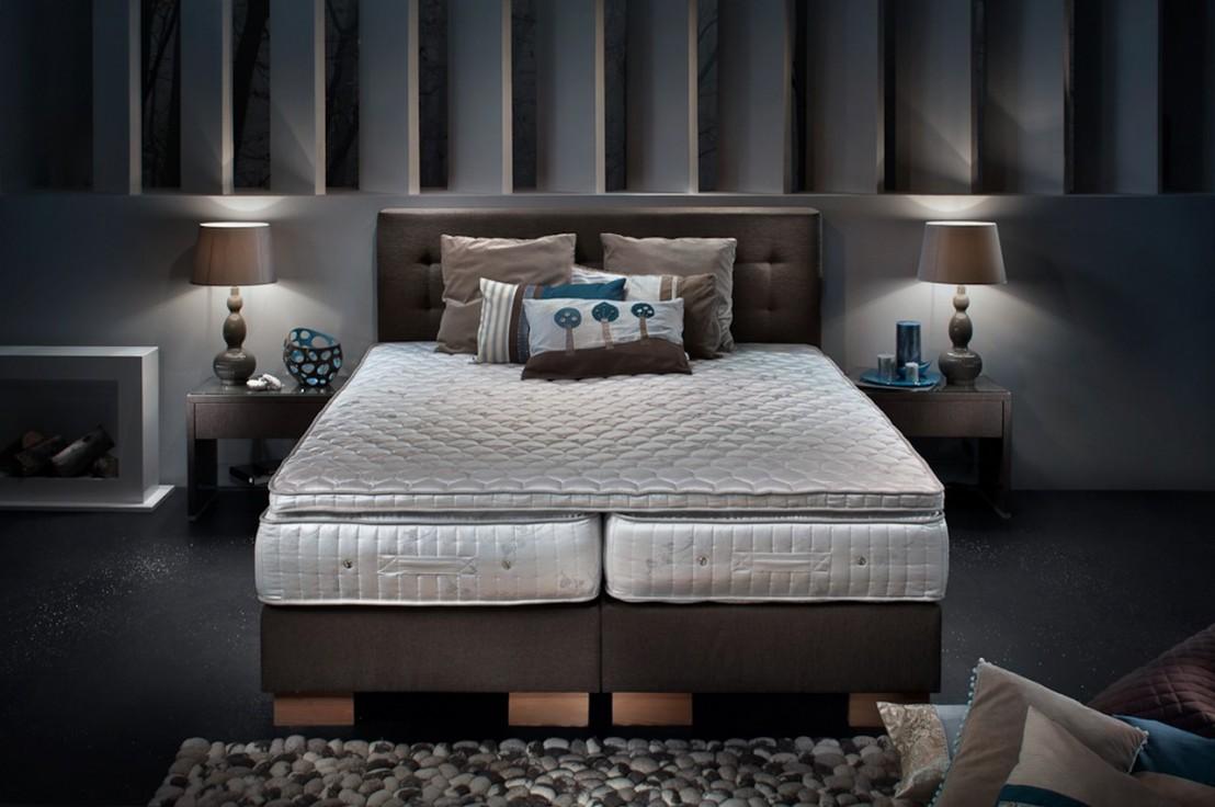 Lit bio luxe complet sommier matelas vitalwood - Sommier tete de lit ...