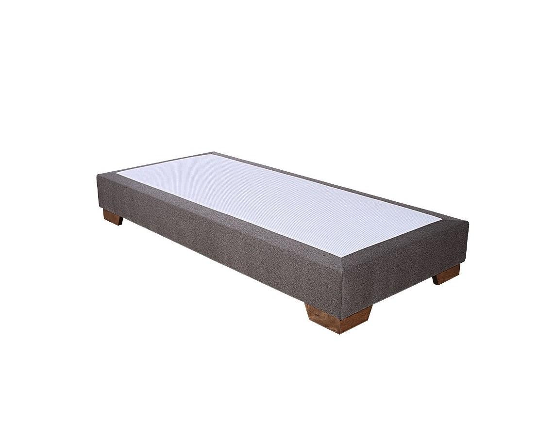 lit complet trend t te de lit volants sommier. Black Bedroom Furniture Sets. Home Design Ideas