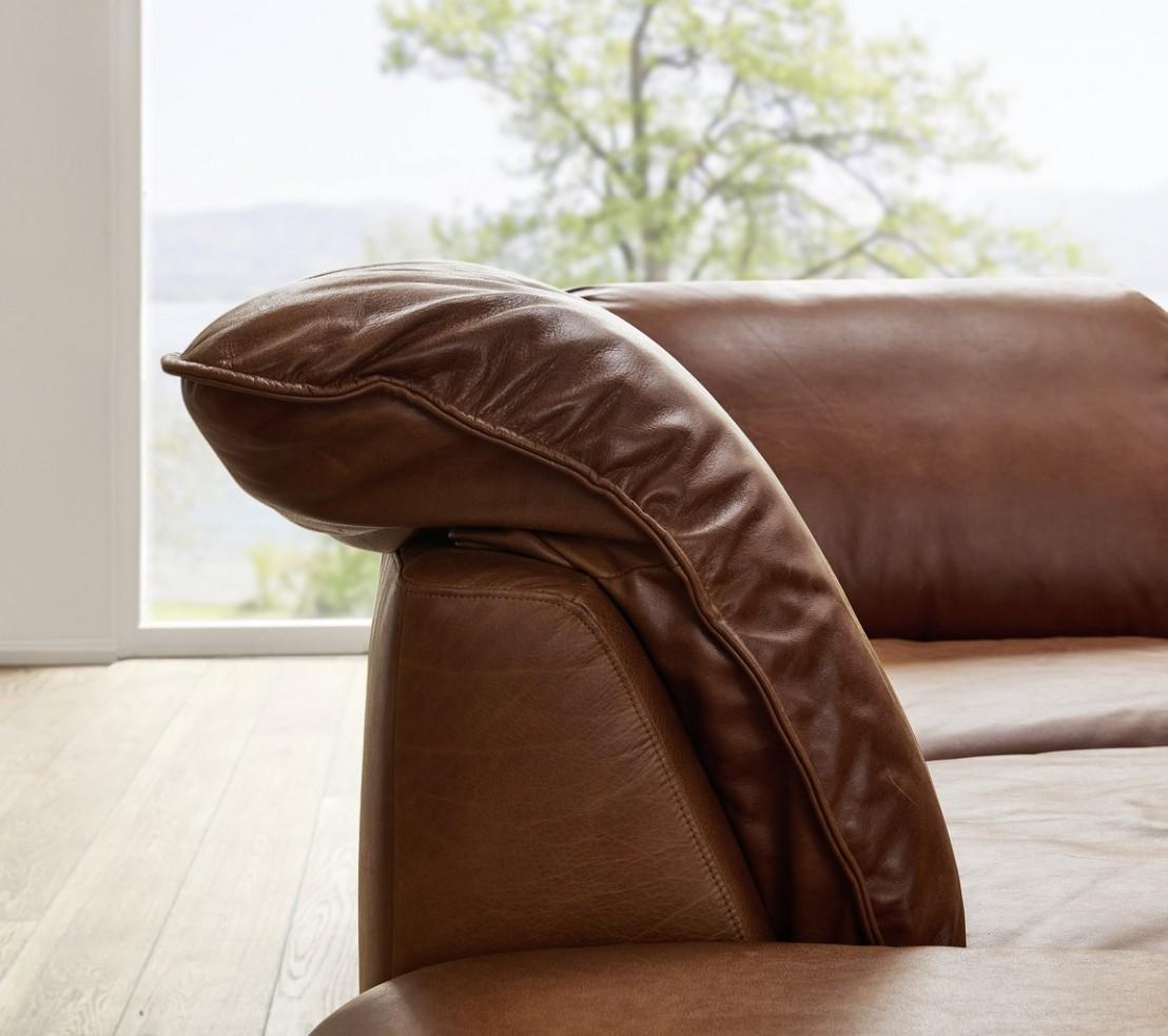 Grand canap design en u cuir adoration tm - Canape cuir en u ...