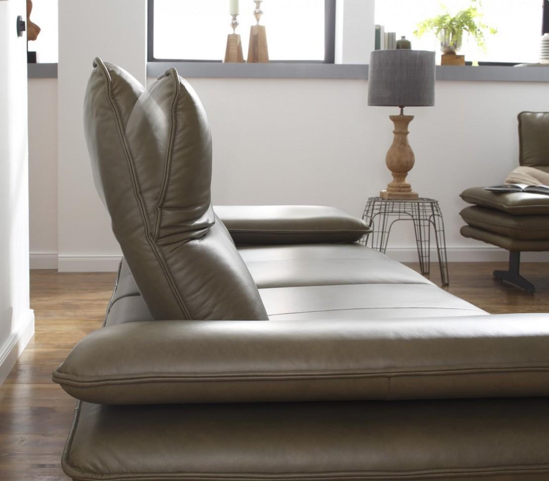 Canap banc cuir ou tissu 2 places design a rien alwin c - Canape cuir ou tissu ...