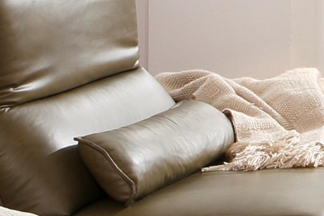 coussin cale reins cuir ou tissu alwin c. Black Bedroom Furniture Sets. Home Design Ideas