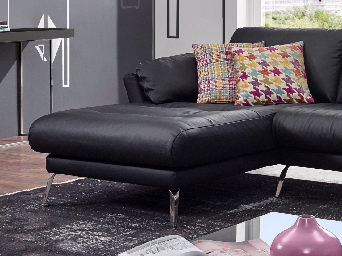 petit canap d 39 angle avec chaise longue confort souple am melvin. Black Bedroom Furniture Sets. Home Design Ideas
