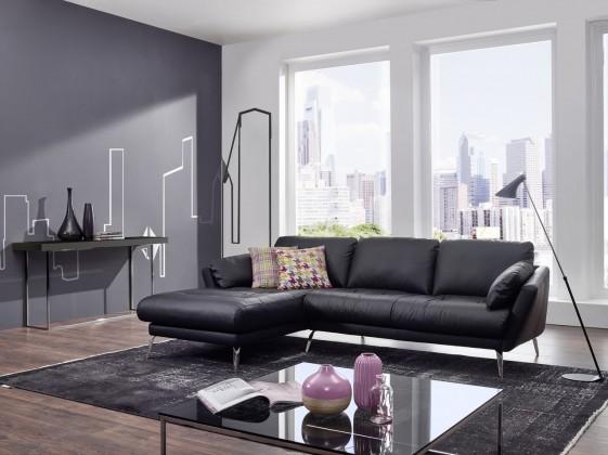 Petit Canapé Dangle Avec Chaise Longue Confort Souple AMMELVIN - Canapé d angle confortable
