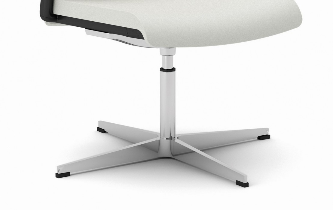 Chaise de bureau ou de r union design pivotante cuir ou tissu - Chaise de bureau reglable en hauteur ...