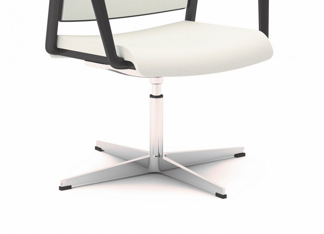 Office 805 chaise de bureau avec accoudoirs pivotante for Chaise reglable en hauteur