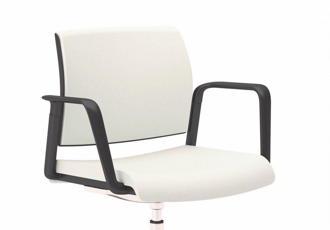 Office 805 chaise de bureau avec accoudoirs pivotante - Chaise de bar reglable en hauteur ...