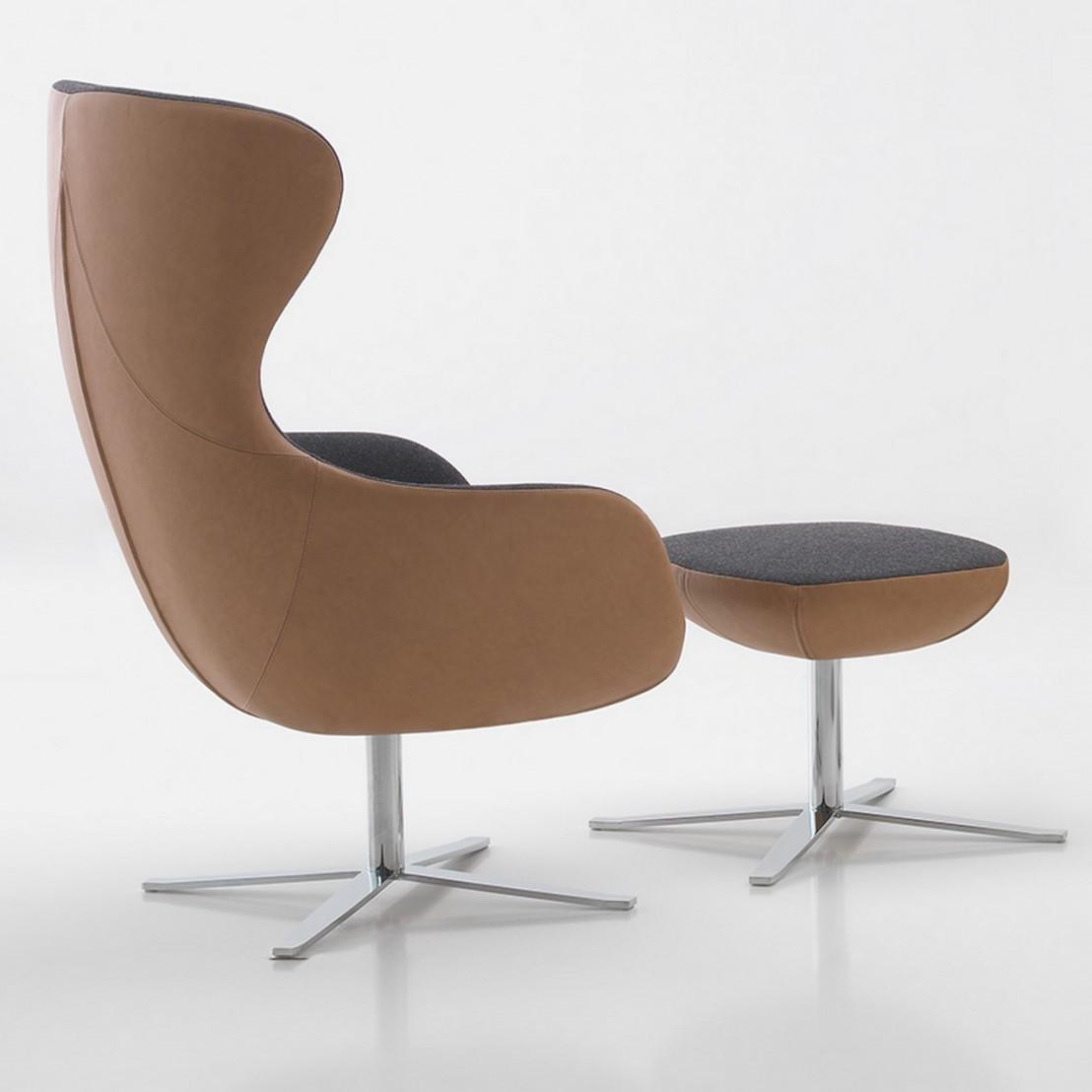 fauteuil egg loeuf cuir ou tissu livraison gratuite. Black Bedroom Furniture Sets. Home Design Ideas