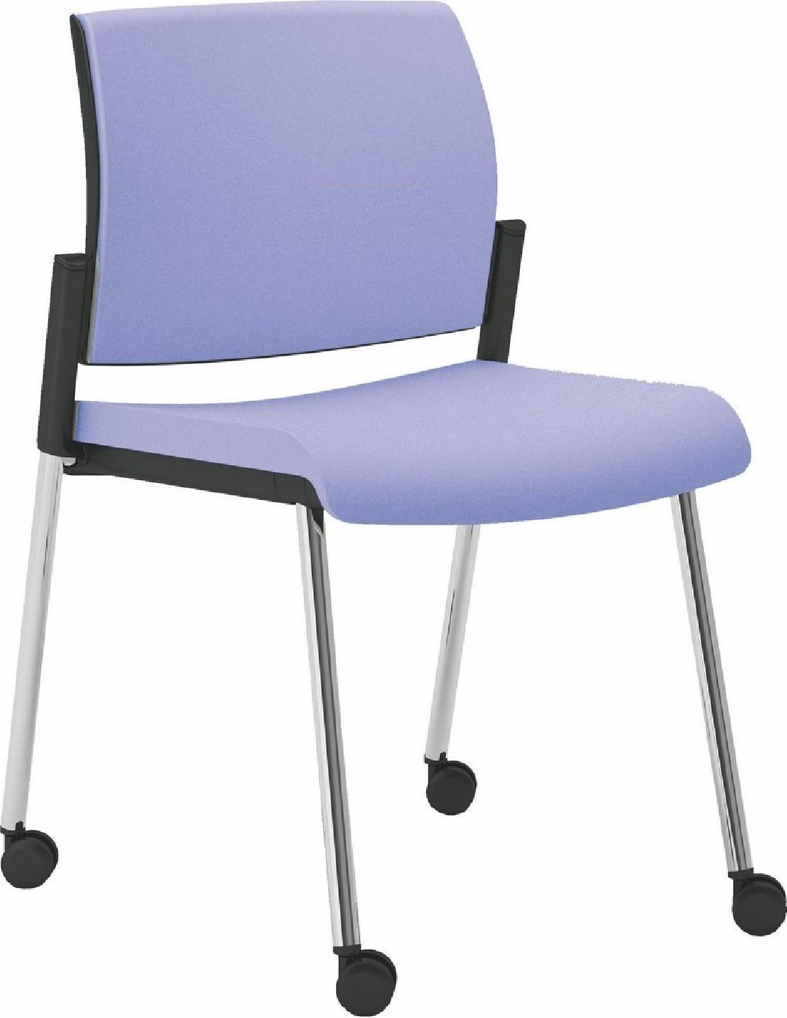 Chaise de r union conf rence de bureau roulettes office 70 - Chaise de bureau a roulettes ...