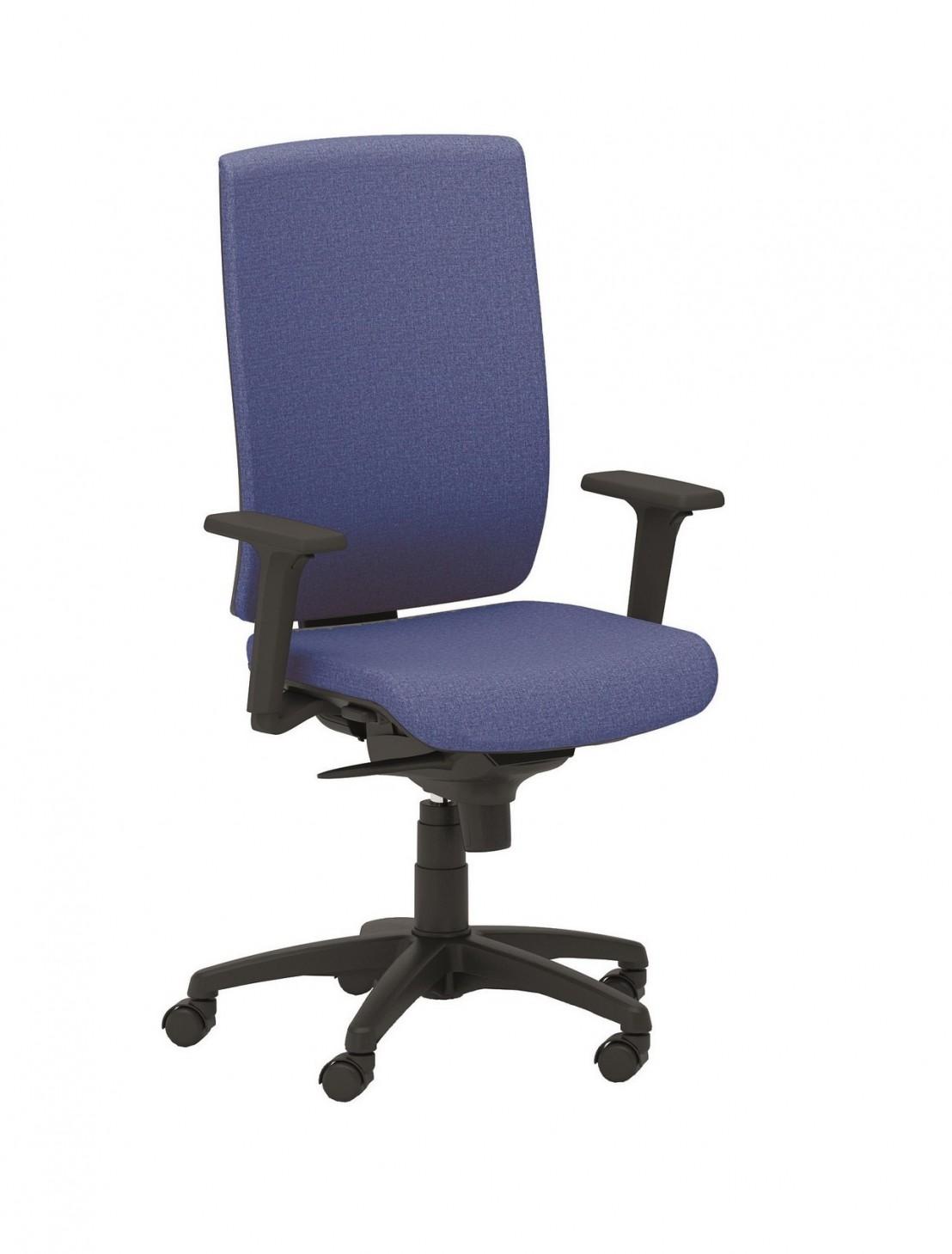 Office 205 fauteuil de bureau en cuir ou en tissu seanroyale - Fauteuil bureau tissu ...