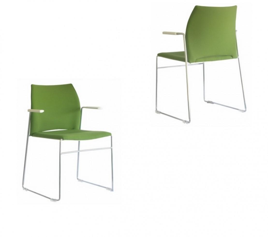 Meeting 305 chaises de bureau avec accoudoirs tapiss es - Chaise de bureau baquet ...