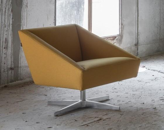 AMARCORD LUXY Fauteuil Design En Cuir Teinte Au Choix - Fauteuil cuir designer