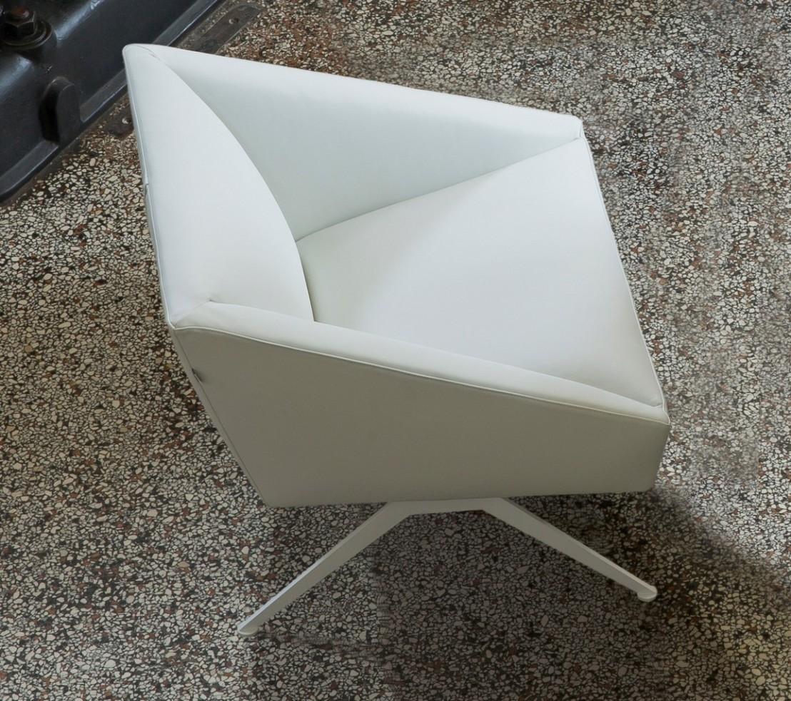 Petit canap d 39 accueil fauteuil tissu luxy amarcord - Petit canape design ...