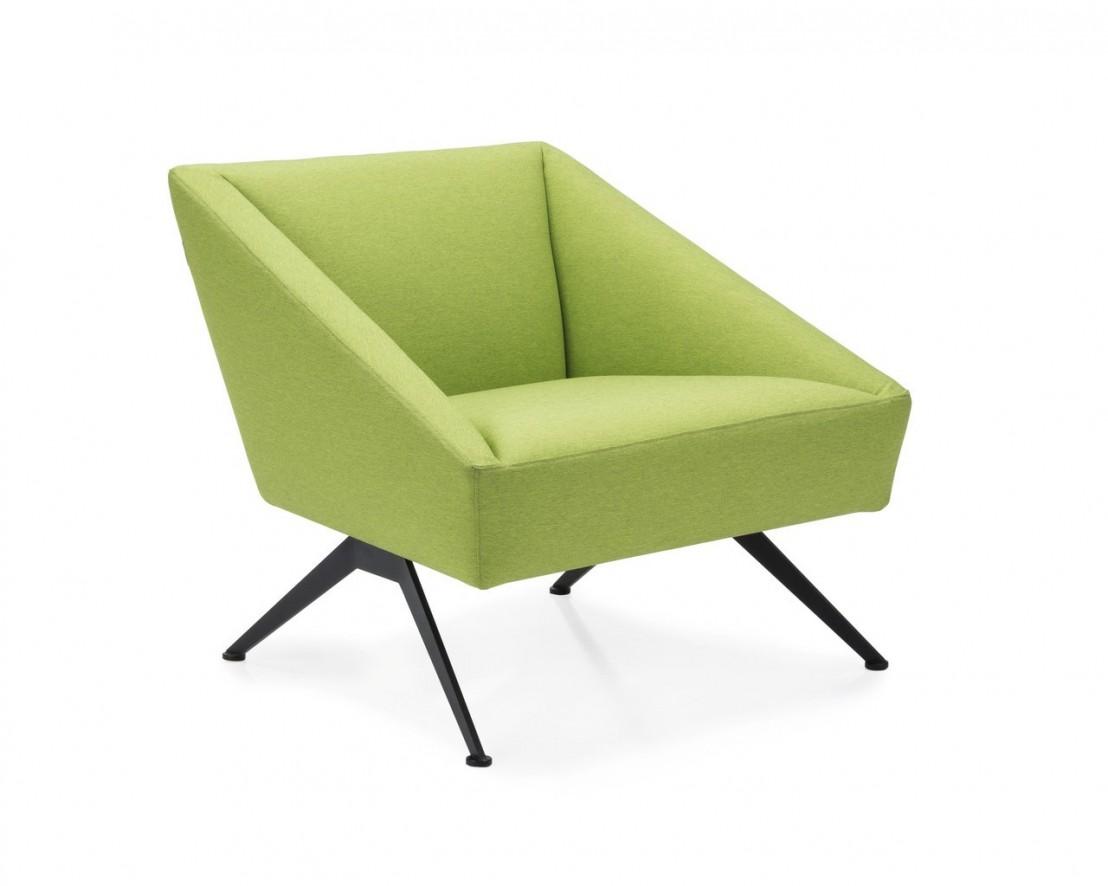 Petit canap d 39 accueil fauteuil tissu luxy amarcord - Canapes et fauteuils ...