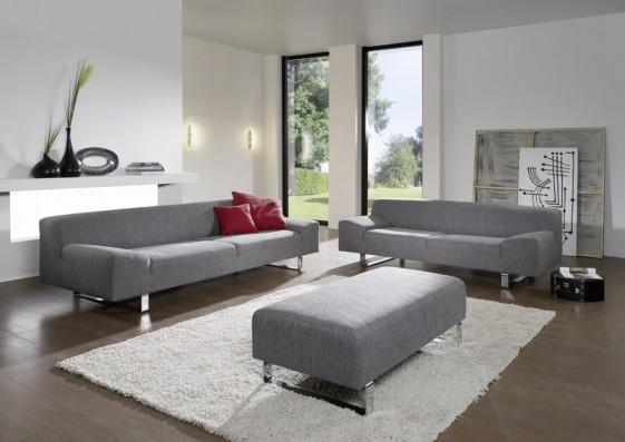 Canapé Design En Tissu Ou Cuir Places MMadonna - Canapé cuir 4 places