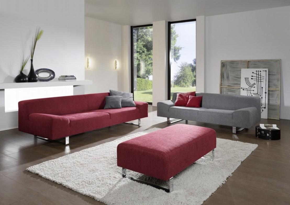 canap design minimaliste en cuir 3 places m madonna. Black Bedroom Furniture Sets. Home Design Ideas