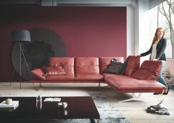 AD.SENSO, canapé d'angle minimaliste ultra design & ultra confortable