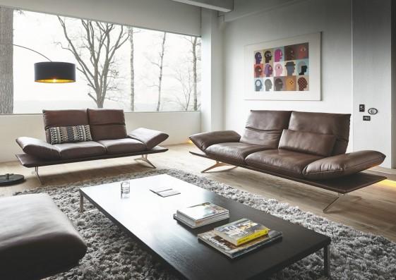 Canapé Ultra Design ADSENSO Places Cuir Ou Tissu - Design canapé